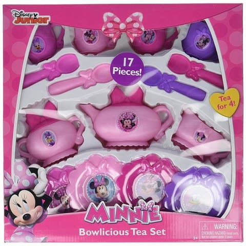 Disney 17 Piece Minnie Bowlicious Tea Set