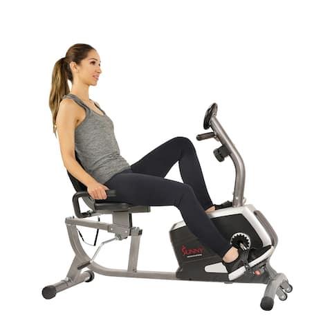 Sunny Health & Fitness SF-RB4616 Magnetic Recumbent Bike