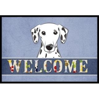 Carolines Treasures BB1396MAT Dalmatian Welcome Indoor & Outdoor Mat 18 x 27 in.