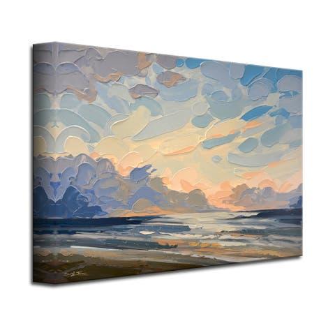 Symphony Playa' Scenic Coastal Canvas Wall Art by Sarah LaPierre