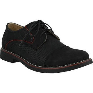 Spring Step Men's Liam Oxford Black Nubuck