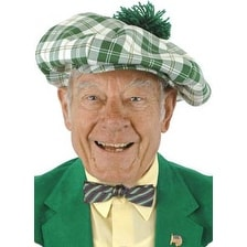 St Patricks Gatsby Costume Hat