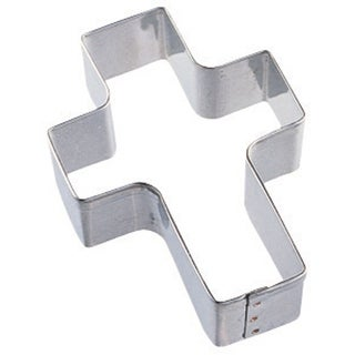 "Metal Cookie Cutter 3""-Cross"