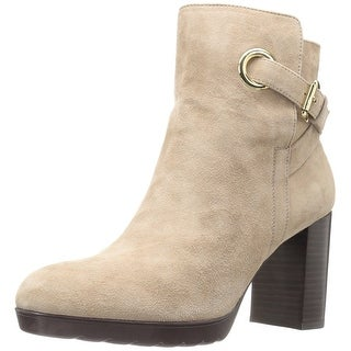 Bella Vita Womens zelda Suede Almond Toe Ankle Fashion Boots
