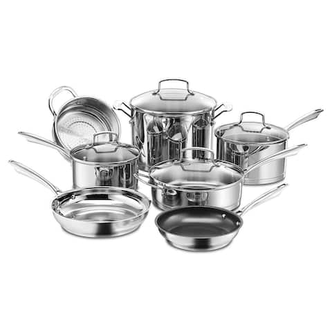 Cuisinart 66-14N 14 Piece Chef's Classic Non-Stick Hard Anodized Cookware Set, G