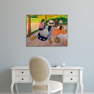 Easy Art Prints 's 'The Siesta' Premium Canvas Art