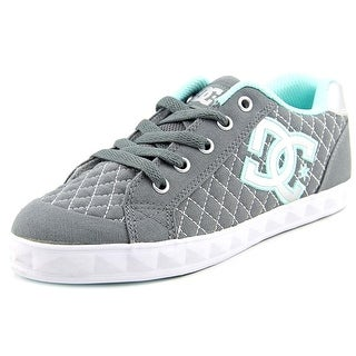 DC Shoes Chelsea Stud Round Toe Canvas Skate Shoe