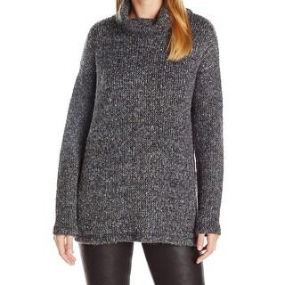 Splendid NEW Gray Womens Size Medium M Double Face Loose Knit Sweater