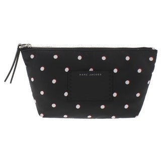 Marc Jacobs Womens BYOT Cosmetic Case Printed Leather Trim
