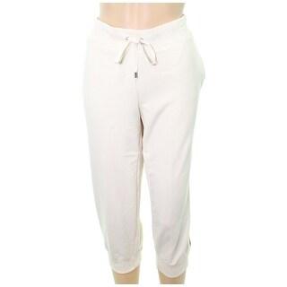 Lauren by Ralph Lauren NEW Ivory Women Small S Lounge Pants Sleepwear