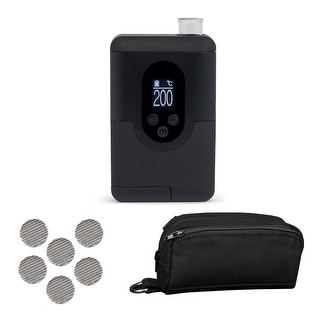 Arizer ArGo Portable Handheld Aromatherapy Device with Case and Screen Pack