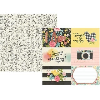 """I Am Specialty Cardstock 12""""X12""""-4""""X6"""" Vertical Elements"""