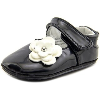 Jack and Lily Skyler Infant Synthetic Black Moccasins