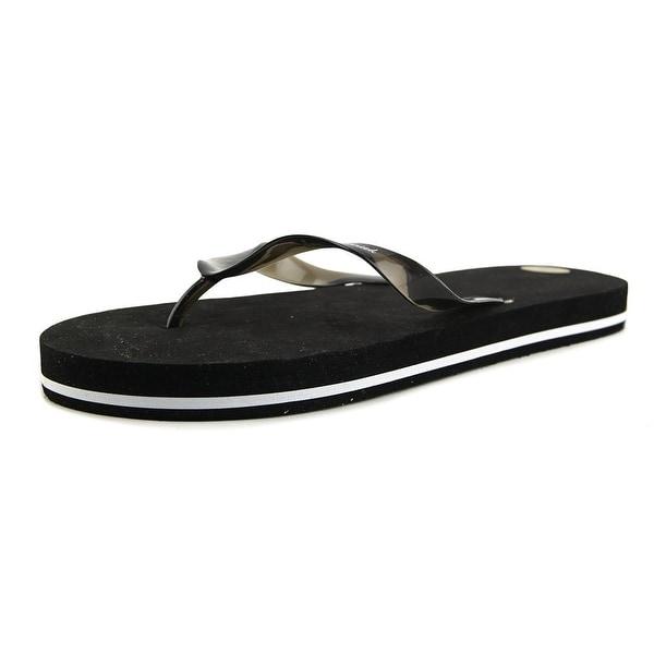 e3528a426897d5 Victoria Lynn Just Married Men Open Toe Synthetic Black Flip Flop Sandal