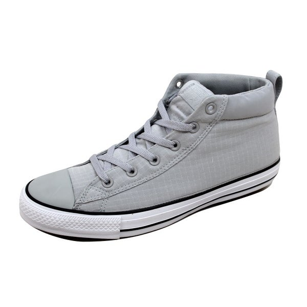 Converse Men's Chuck Taylor All Star Street Mid Ash Grey/White-Black 155712F
