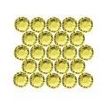 Swarovski Elements Crystal, Round Flatback Rhinestone Hotfix SS12 3mm, 50 Pieces, Citrine - Thumbnail 0