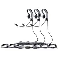 Jabra UC Voice 250 Mono Corded Headset (3-Pack) w/ Noise Reduction System