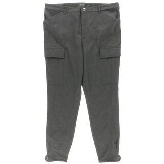 Lauren Ralph Lauren NEW Gray Women's Size 8 Skinny Fit Cargo Pants
