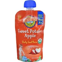 Earth's Best - Organic Sweet Potato Apple Puree ( 12 - 4 OZ)