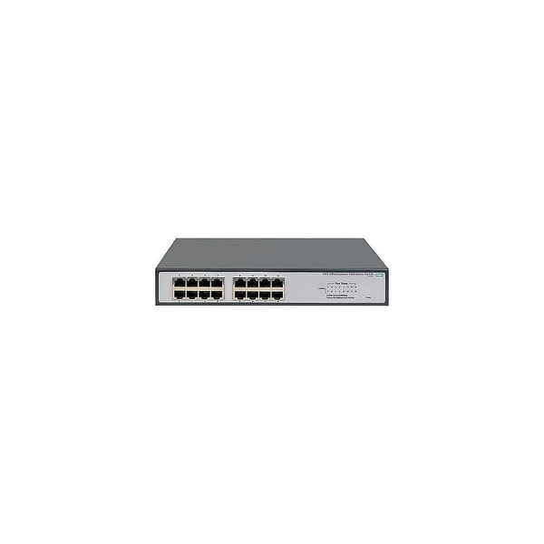 HP 1420-16G Port Ethernet Switch JH016A#ABA HP 1420-16G Switch - 16 Ports - 10/100Base-TX, 10/100/1000Base-T - 16 x Network -
