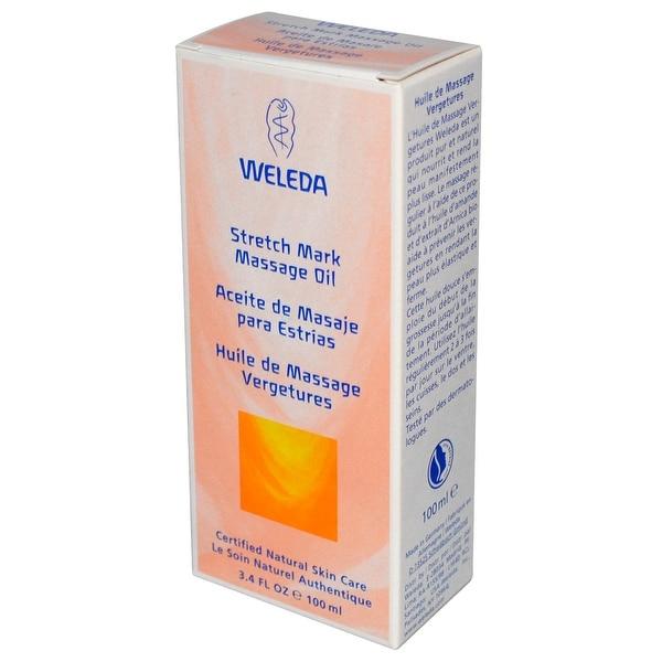 Weleda Stretch Mark Massage Oil - 3.4 fl oz