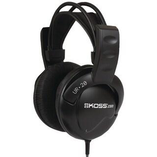 Koss UR20 Full Size Over Ear Headphones - Black