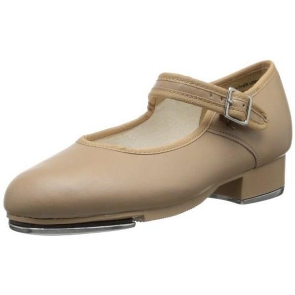 Capezio Womens Mary Jane Tap Shoe, Caramel, 5.5W