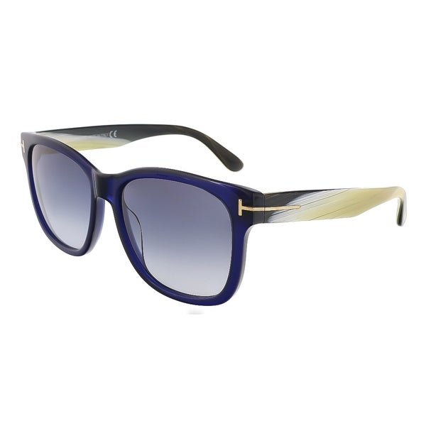 Tom Ford FT0395/S 89W Cooper Navy Blue Rectangle Sunglasses - 57-17-145