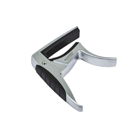 Monoprice Guitar Capo Aluminum Body,Trigger style, Standard Length, Light Weight