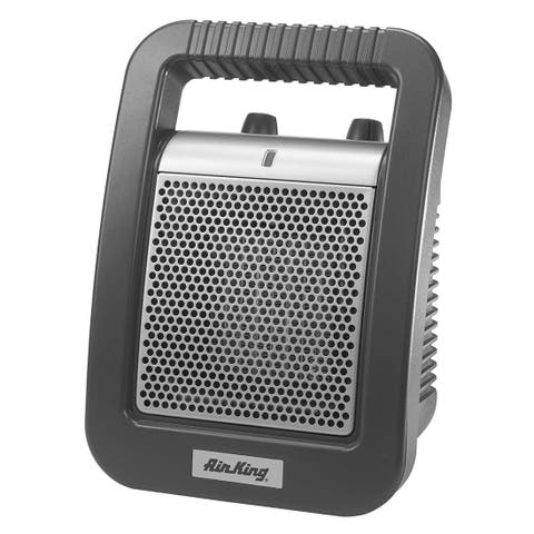 Air King 8945C 5118 BTU 1500 Watts 120 Volts Portable Electric Heater with Adjustable Thermostat (Pack of 4)