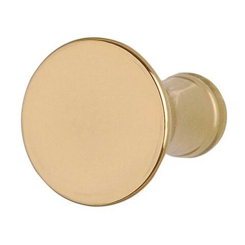 Cabinet Knob Classic Brass 1 Dia Renovator's Supply