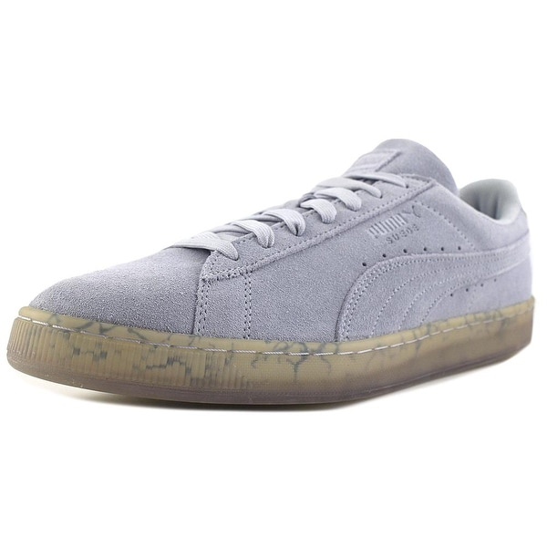 Puma Suede Classic Easter FM Men Round Toe Suede Gray Sneakers