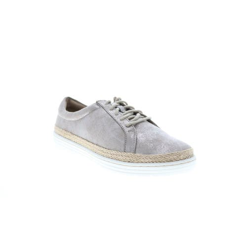 Clarks Marie Mist Pewter Womens Lifestyle Sneakers