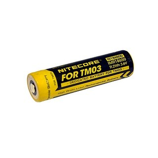 NITECORE IMR 18650 Rechargeable Li-ion Battery for TM03 Flashlights