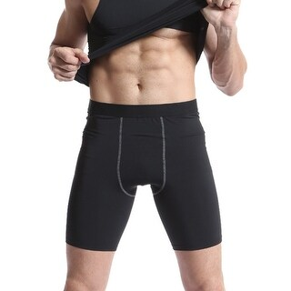Compression Tank Top and Shorts for Men, Odoland Muscle Baselayer Sleeves for Training Running Cycling and Daily Ware