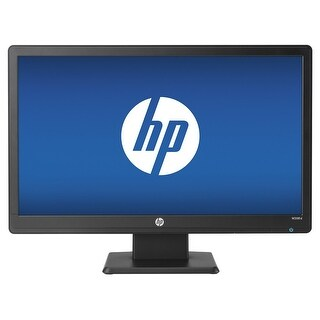 "HP W2081D 20"" LED Backlit Monitor 5ms 1600x900 Full HD VGA DVI"