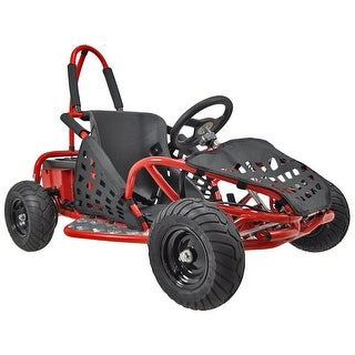 MotoTec Red 48v 1000w Off Road Go Kart