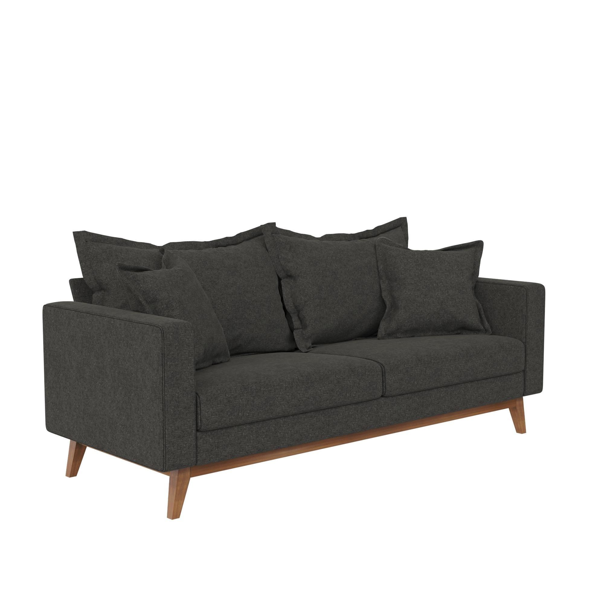 Avenue Greene Marielle Pillowback Wood Stretcher Sofa -  DO28124