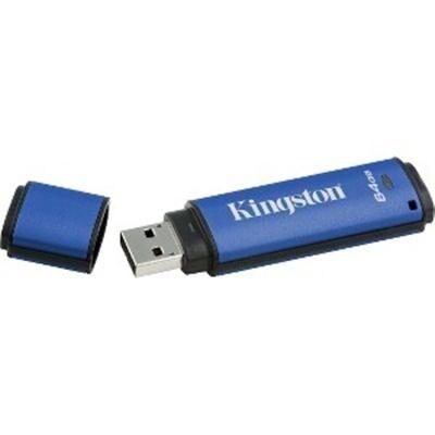 Kingston Digital 64Gb Data Traveler Aes Encrypted Vault Privacy 256Bit 3.0 Usb Flash Drive (Dtvp30/64Gb)