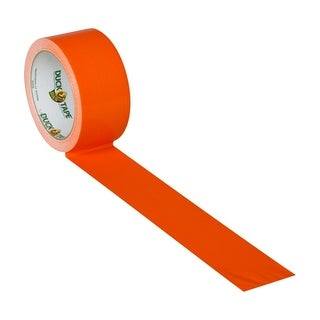 Blaze Orange uck Tape Brand Duct Tape 1.88 inch X 15 yard Roll