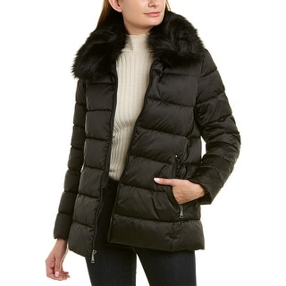 Link to Tahari Hooded Back Down Jacket Similar Items in Women's Outerwear