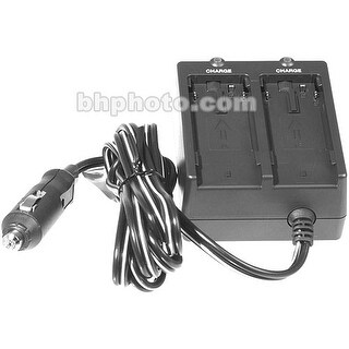 Canon CB-600 Dual Battery Car Charger and Adapter for BP-6 Series Batteries