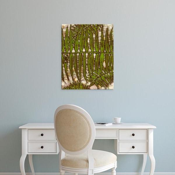 Easy Art Prints Andrea Davis's 'Batik Frond III' Premium Canvas Art