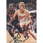 Craig Ehlo Atlanta Hawks 1995 Stadium Club Autographed Card This item comes with a certificate of