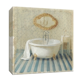 "PTM Images 9-152698  PTM Canvas Collection 12"" x 12"" - ""Victorian Bath II"" Giclee Bathroom Art Print on Canvas"
