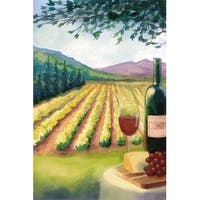 Wine Country & Vineyard - LP Artwork (100% Cotton Towel Absorbent)