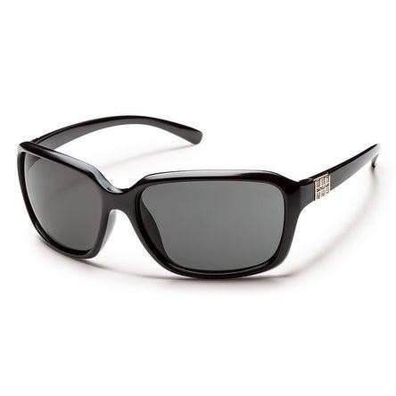 Suncloud Blossom S-BOPPGYBK Black Frame/Grey Lens Sunglasses