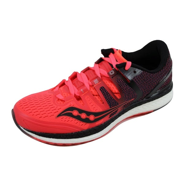 89935e9f083d Shop Saucony Women s Liberty Iso Red Black-Grey S10410-2 - Ships To ...