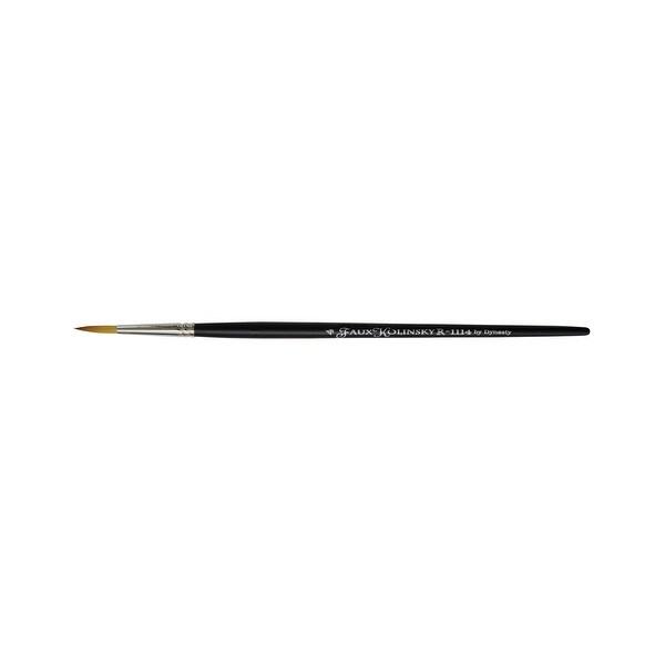 Short Handle one brush Round Brush - Size 8 Dynasty Faux Kolinsky Series 1114