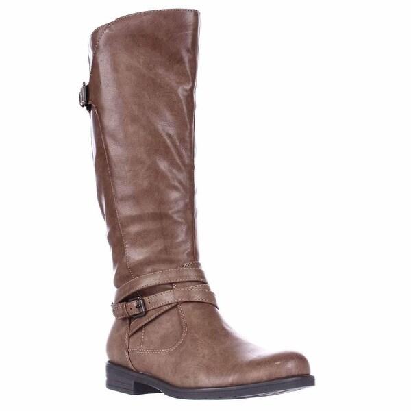 BareTraps Corrie 2 Wide Calf Knee-High Boots, Brush Brown